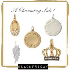 So many of our gorgeous charms are on sale & an additional 25% off for Black Friday (through 12/1). Tell your personal story! xo