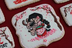 Fantastically detailed cookies