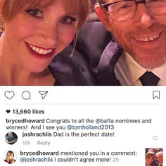 Got a comment from #celebrity #Hollywood #actress @brycedhoward! On Monday while I was in @henryscamera looking at scanners for my cartoons I wandered over to the video area to look at mics to help me interview celebrities for http://youtube.com/joshrachlis. At that moment I got a notice that #BryceDallasHoward (star of #JurassicWorld) replied to a comment I made on her photo of her and her dad (legendary actor and director #RonHoward). I told the guy and girl behind the counter about this…
