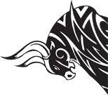 Tribal bull tattoo design (all black) – taurus constellation tattoo Bull Tattoos, Taurus Tattoos, Tribal Tattoos, Mauri Tattoo Designs, Tattoo For Boyfriend, Rooster Tattoo, Taurus Constellation Tattoo, Zodiac Signs Taurus, Taurus Man