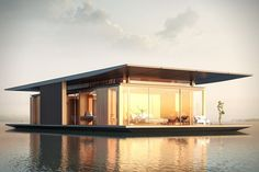 Sustainable Floating House Concept 3