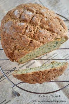Prosty chlebek pełnoziarnisty na sodzie i maślance Scones, 20 Min, Food Photo, I Foods, Pains, Poland, Muffins, Photos, Bakery Business
