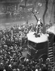 Vintage Holiday: A children's Christmas party at the Hoxton Mission, London. 18th November 1933