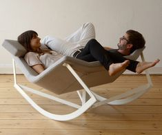 Cool.  I want. rocking chair for two. @Moises Zeevaert