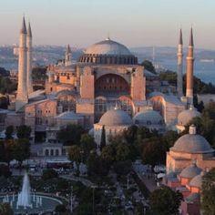 The Blue Mosque Istanbul Turkey Blue Mosque Istanbul, Christian World, Hagia Sophia, Istanbul Turkey, Taj Mahal, Beautiful Places, Europe, San, City