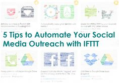 IFTTT is an awesome tool that allows you to automate many aspects of your life.  This post gives steps for Social Media
