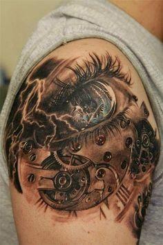 Rose 3D tattoo - 60+ Amazing 3D Tattoo Designs  <3 <3