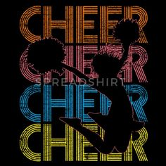 Cheerleader - Cheer Cheer Kids' Premium Longsleeve Shirt ✓ Unlimited options to combine colours, sizes & styles ✓ Discover Long-Sleeve Shirts by international designers now! Cheerleading Jumps, Cheerleading Shirts, Cheer Stunts, Softball Pictures, Cheer Pictures, Cute Cheer Shirts, Cheer Pom Poms, Cheer Pics, Cheer Hair
