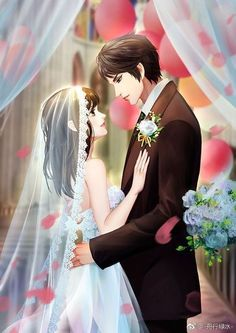 That simple hidden phrase completely changed the way he saw he in his life. THE MAGICAL TEXT THA - Cute Couple Drawings, Cute Couple Art, Anime Couples Drawings, Anime Couples Manga, Love Cartoon Couple, Manga Couple, Anime Love Couple, Romantic Anime Couples, Fantasy Couples