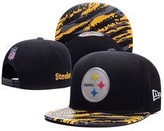 Men s Pittsburgh Steelers New Era Black Color Liquid Chrome Logo Rush  On-Field Original Fit fb34729c8