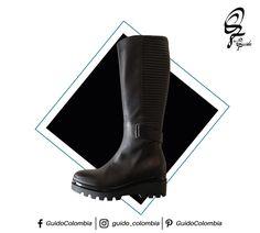 Marca Albano Ref: 6027  Tipos de zapatos que toda mujer debería tener  2. Botas negras Pueden usarse hasta la rodilla o mitad de la pantorrilla. Son ideales para los días fríos y además combinan con casi todo, no importando si usas pantalón o vestido. Escoge las que tienen tacón cómodos para que puedas utilizarlas en toda ocasión. - Visítanos : C.C El Retiro Local 1-107/ C.C Hacienda Santa Bárbara Local B-123