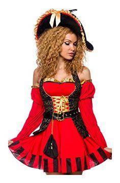 edles Piraten Kostüm von Luxury & Good Dessous M