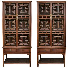 Chinese furniture armoire with lattice work Chinese furniture armoire with lattice work Asian Furniture, Chinese Furniture, Oriental Furniture, Types Of Furniture, Classic Furniture, Furniture Making, Modern Furniture, Furniture Design, Sofa Furniture