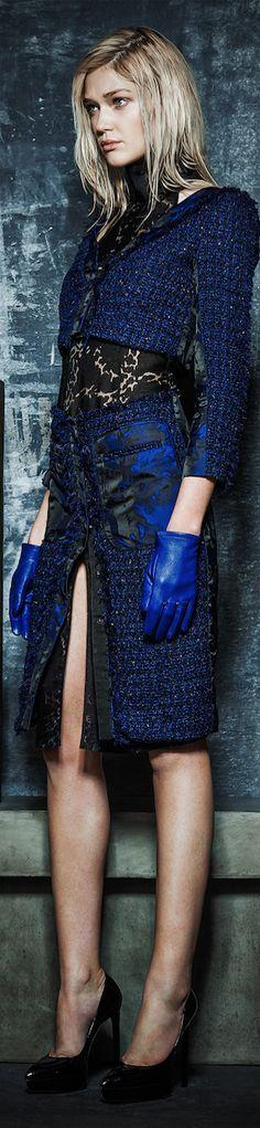 Fall 2014 Ready-to-Wear featuring Escada § Blue Fashion, New York Fashion, High Fashion, Rachel Roy, Jason Wu, Autumn Winter Fashion, Beautiful Outfits, Fasion, Ready To Wear