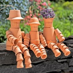 Would You Put Flower Pot People In Your Garden?