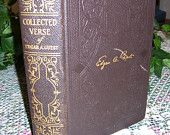 COLLECTED VERSE of EDGAR A.GUEST ~ Hardcover w/ Slipcase 1934 Copyright 9th Ed.