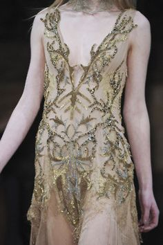 Couture tambour beading