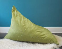 How To Make A Pyramid Beanbag Chair