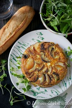 Vegetable Frittata | Lemons & Anchovies Blog