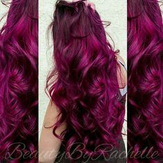 We've gathered our favorite ideas for My Perfect Hair Color Joicos Magenta Amethyst Purple, Explore our list of popular images of My Perfect Hair Color Joicos Magenta Amethyst Purple in red-purple burgundy hair color. Magenta Hair Dye, Plum Hair Dye, Hair Color Purple, Burgundy Hair, Ombre Hair, Dyed Hair, Color Red, Red Ombre, Plum Purple