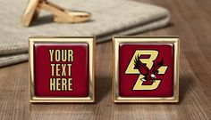 Boston College Eagles Cufflinks Cuff Links by OurCufflinkShop Football Presents, Personalized Basketball, Louisville Cardinals, San Diego Chargers, College Gifts, Presents For Men, Dad Birthday, Atlanta Braves, New York Giants