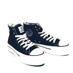 2720a2fa703 Basket Plataforma Victoria. Unas zapatillas imprescindibles ...