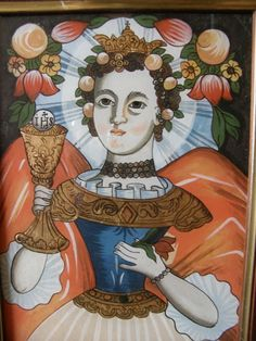 Hl._Barbara_-_Hinterglasmalerei_.JPG (500×667)