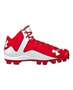 55fcaf89b0f Under Armour Men s UA Leadoff Mid RM Baseball Cleats Softball Shoes