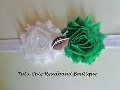 Michigan State Headband: baby headbands, newborn headband, football headbands, infant headband, toddler headband, childrens headband