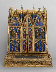 Reliquary Shrine, second quarter of 14th century Attributed to Jean de Touyl