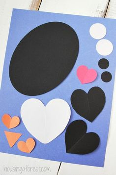 Valentines-Craft-Heart-Penguin-Craft-for-Kids.jpg 409×614 pixelov