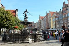 Neptunes Fountain Gdansk