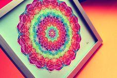 MANDALA OF THIRD CHAKRA  meaning: wisdom, love, power, energy, emotion, memory, positive view of the world, serenity, friendship, gladness, abundance, hope  www.lapetien.com