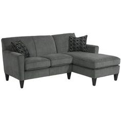 Digby Contemporary Sectional Sofa with RAF Chaise by Flexsteel - AHFA - Sofa Sectional Dealer Locator