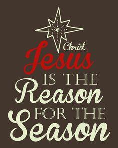 Jesus is the reason...