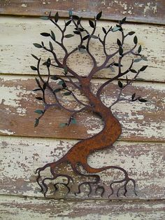 Sue Seeger's metal art
