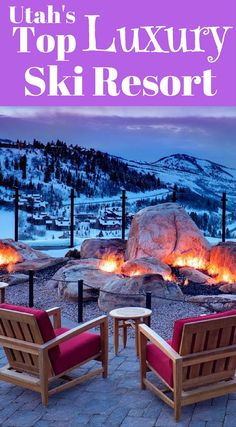 Utah's Top Luxury Ski Resort Deer Valley Resort. Downhill skiers can enjoy the luxurious Deer Valley Resort. You can spend the day enjoying the downhill options and then retire to the resort for gourmet dining and relaxation. Click to read more at http://www.divergenttravelers.com/adventures-heber-valley-utah/