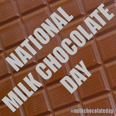 Image result for google images National Milk chocolate day