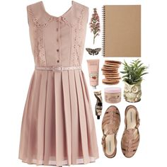 """Call It Pink"" by hiddlescat on Polyvore"
