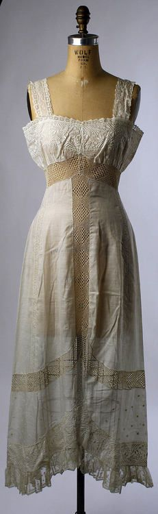 Petticoat - 1909-1911 - The Metropolitan Museum of Art ...looks like it has it's own air conditioning.