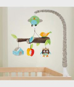 Skip Hop Treetop Friends Toy For Crib