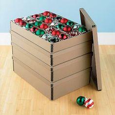 Etonnant Archival Ornament Storage Boxes