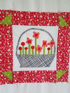 Basket of Flowers for Gossip in the Garden