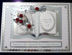Details About Diamond Platinum 60th 70th Wedding Anniversary Card Wife Husband Mum Dad Etc