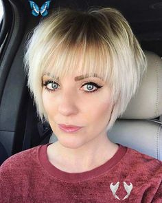 14 Most Popular Short Haircuts In 2020  <br> Popular Short Haircuts, Bob Haircuts For Women, Haircuts For Fine Hair, Short Bob Haircuts, Short Hairstyles For Women, Cool Hairstyles, Weave Hairstyles, Anime Hairstyles, Celebrity Hairstyles
