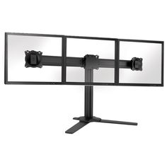 This is our best selling desk mount, available in 3 models and offers the ability to mount two or three monitors.