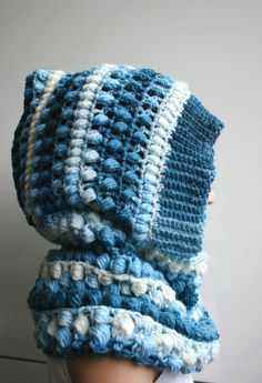 Crochet Pattern, crochet hooded scarf pattern, hooded cowl / poncho sizes toddler to adult 182 (Instant Download!) Thanks to Frozen my girls now