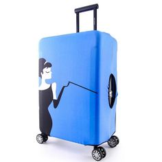 Elastic Printing Luggage Protective Cover Trolley case dust Cover Bag Box Travel Suitcase Accessories Supplies Products
