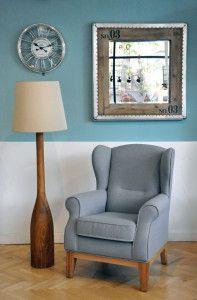 Fotelja Libby i lampa (prelepa)