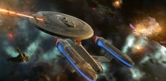 "The starship USS Ares in full force, Starfleet's attempt at creating a real combat vessel to go head to head with the Klingons. She is set to appear in the fan film ""Star Trek: Axanar"", which chron..."